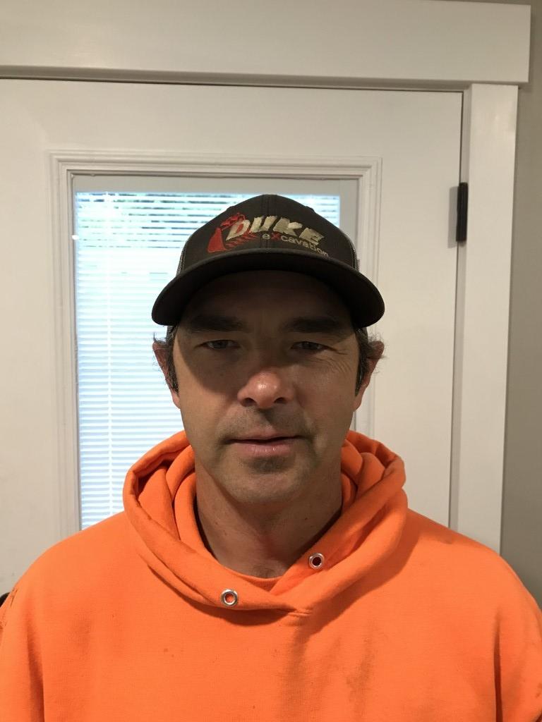 John Dukart part of the excavation team